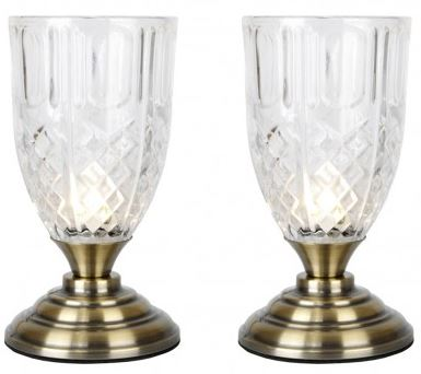 goblet touch lighting