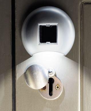 solar door lock
