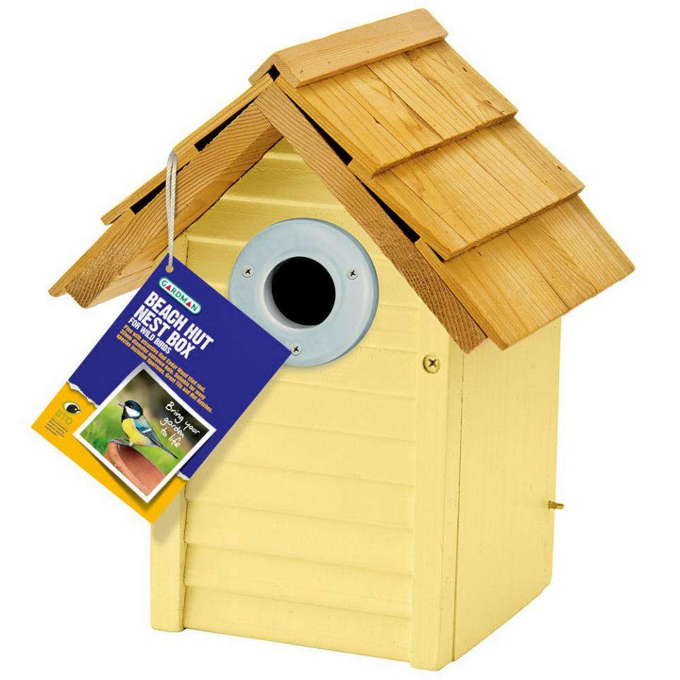 beach hut nest