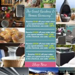 The Great Gardens & Homes Giveaway
