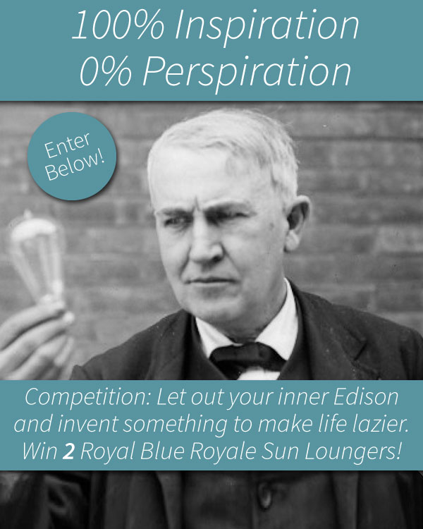 Competition: 100% Inspriation, 0% Perspiration