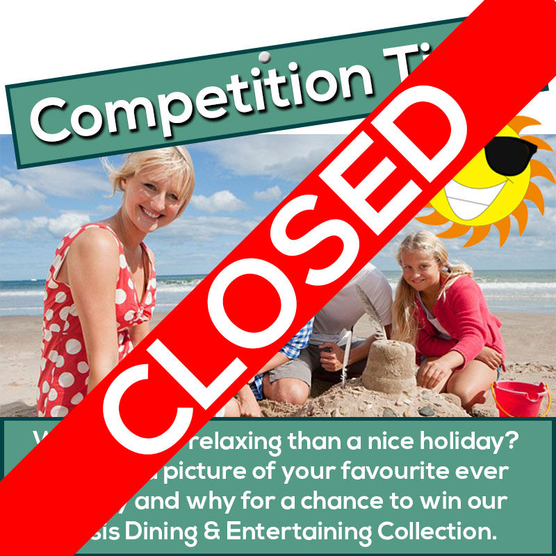 Competition Blog Closed