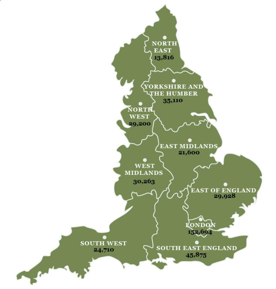 Noise COmplaint UK Map