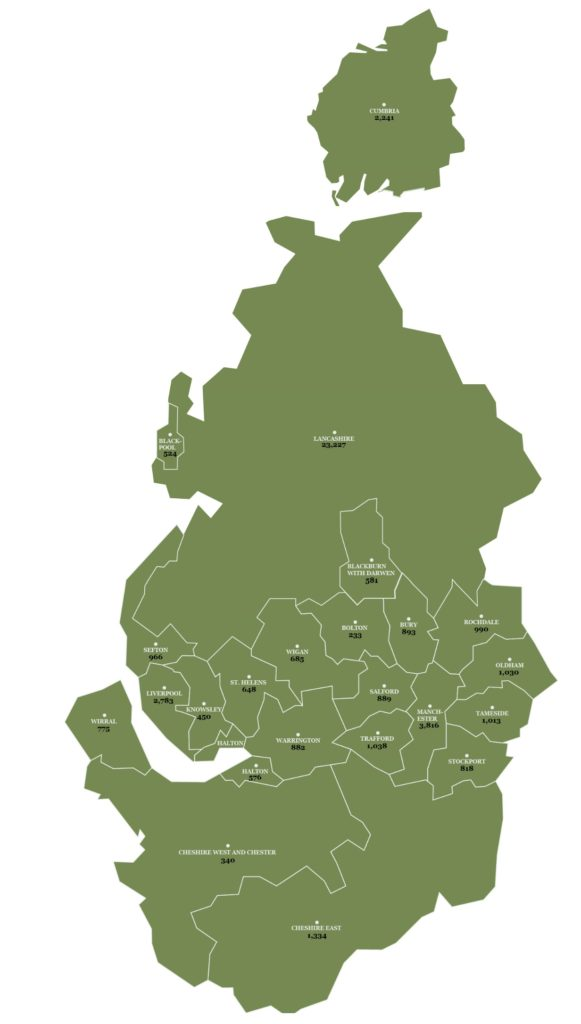 North West Map